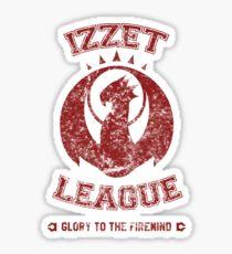 IZZET LEAGUE Sticker