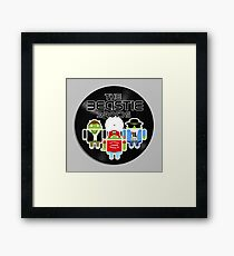 THE BEASTIE DROIDS Framed Print
