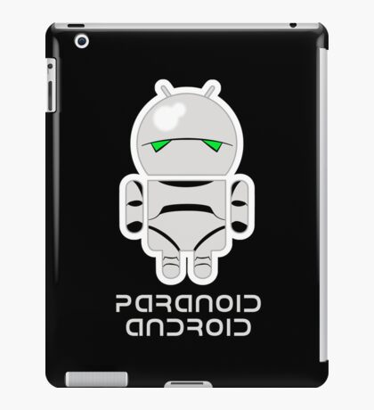 PARANOID ANDROID iPad Case/Skin