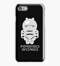 PARANOID ANDROID iPhone Case/Skin