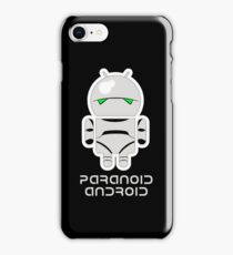 PARANOID ANDROID iPhone 8 Case