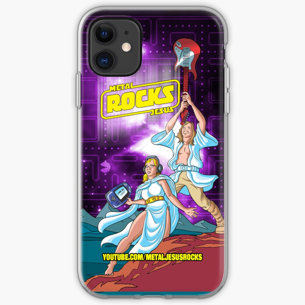 Metal Jesus - iPod Case iPhone Case & Cover