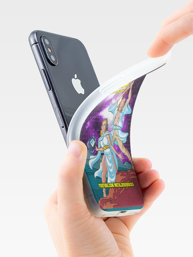 Alternate view of Metal Jesus - iPod Case iPhone Case & Cover