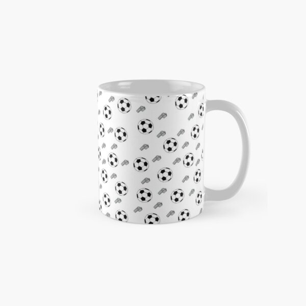 Football -- Soccer -- Pattern -- see more on my page! Classic Mug