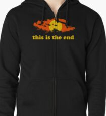 Apocalypse Now: This is the end Zipped Hoodie
