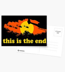 Apocalypse Now: This is the end Postcards