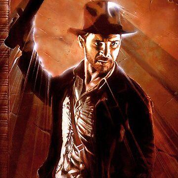 Indiana Jones by amcdanny