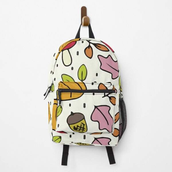 Autumn pattern colorful Backpack