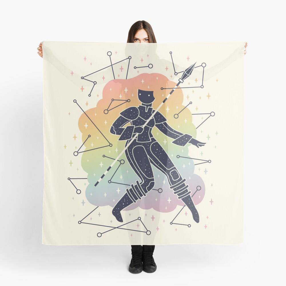 Rainbow Warrior Scarf