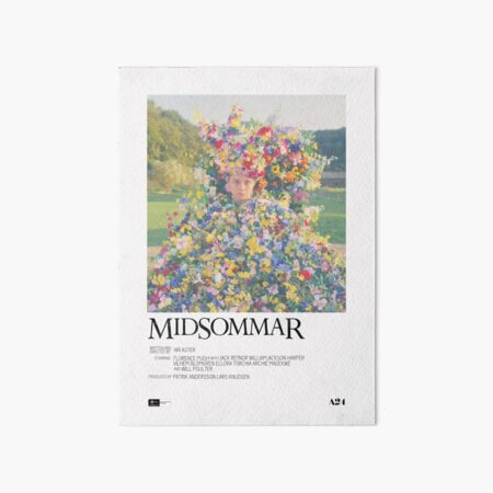 Midsommar Movie Poster Art Board Print
