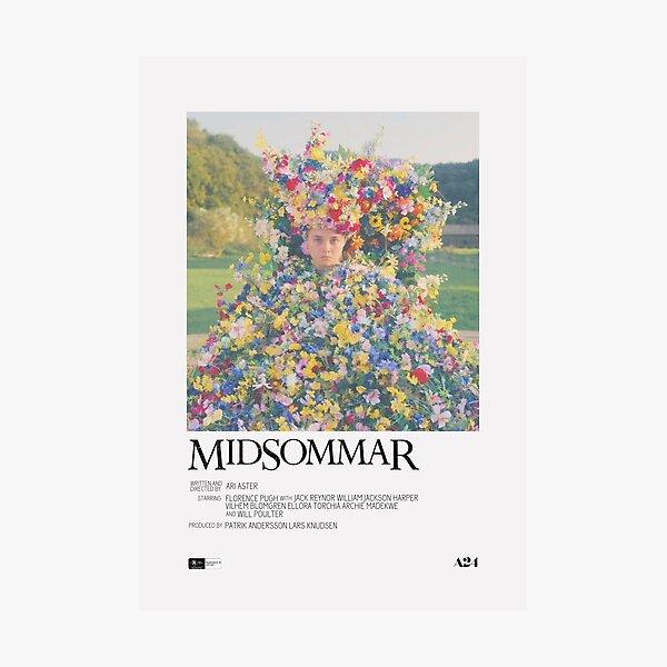 Midsommar Movie Poster Photographic Print