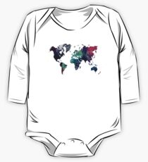 Map world art after Ice age One Piece - Long Sleeve