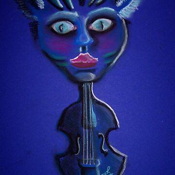 Blue Catbass von ansho