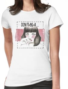 Pulp fiction - Mia wallace Womens Fitted T-Shirt