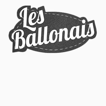 LesBallonais - T-shirt logo by Metabolizm