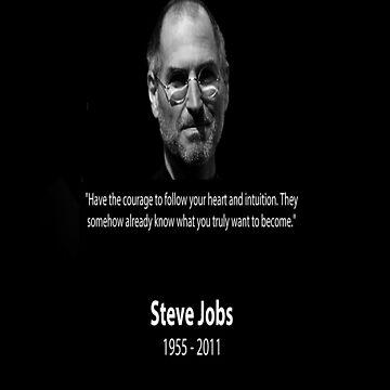 Steve Jobs R.I.P by worldart