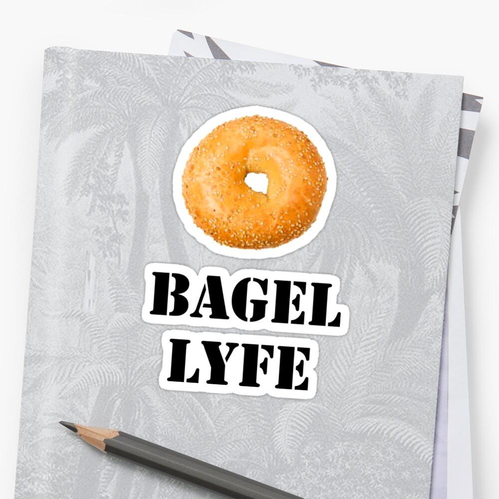 Bagel Lyfe by alwaystaylittle