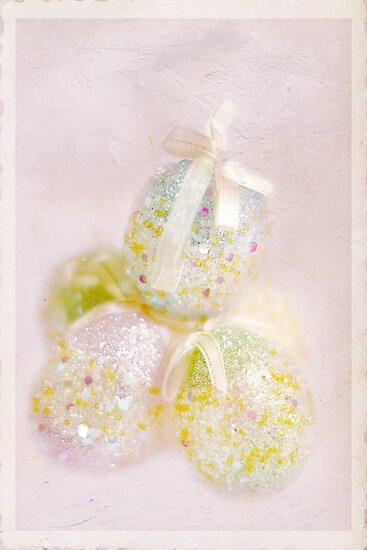 Sparkly Eggs by Rebecca Cozart