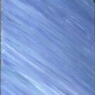 BLUE CALMNESS ON CANVAS by karen66