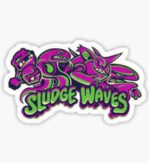 Poison Types - Sludge Waves Sticker