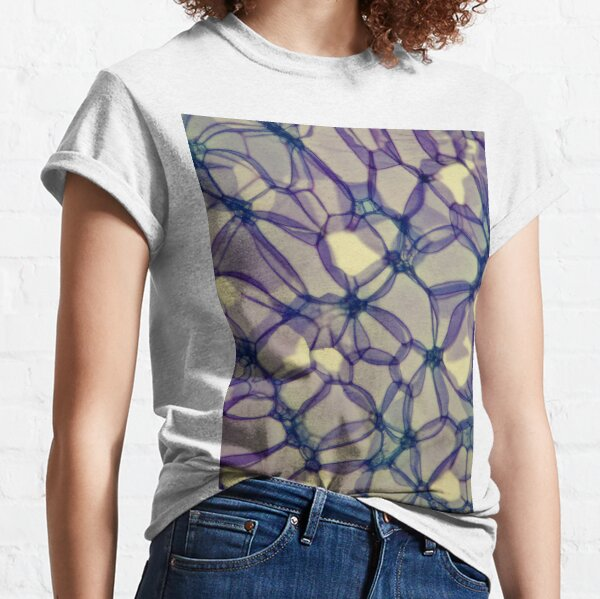 Rose stem section microscope photo - plant cells Classic T-Shirt