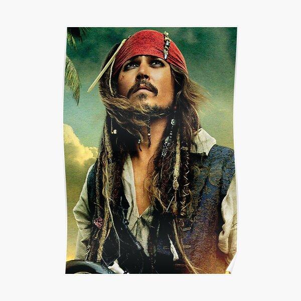 Jack Sparrow, Pirates of The Caribbean, Cinema, Film Poster