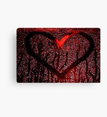 Labelled with love Canvas Print