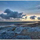 rock on beach by martbarras