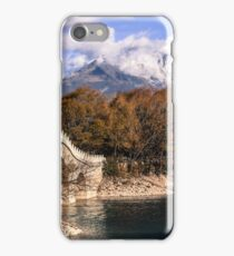 Jade Dragon Snow Mountain iPhone Case/Skin