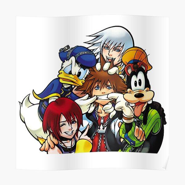 Kingdom Hearts Best Friends Poster
