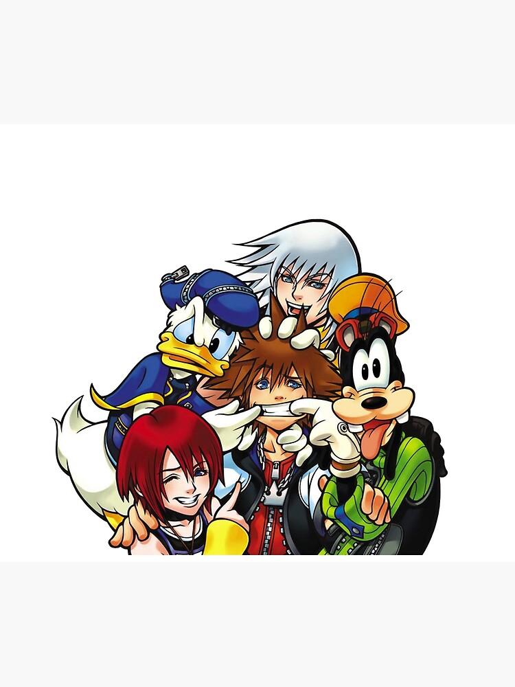 Kingdom Hearts Best Friends by CassidyCreates
