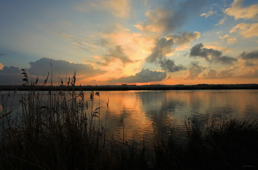 A Yare River Sunset by Ursula Rodgers