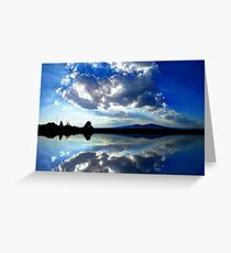 ©HCS Fishing Clouds Greeting Card