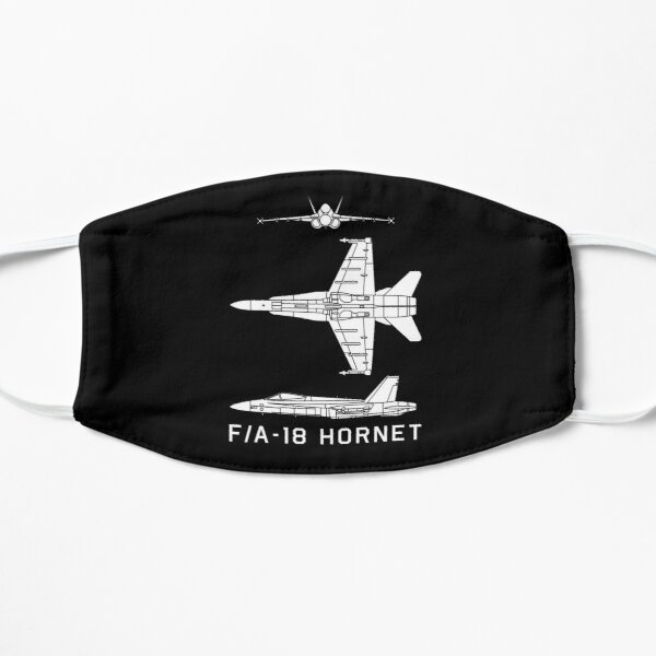 F/A-18 Hornet US Navy Military Multi Role Jet Plane Cutout Silhouette Gift Flat Mask