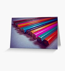 Pencils Greeting Card