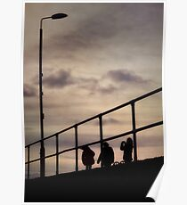 Helensburgh Silhouettes Poster