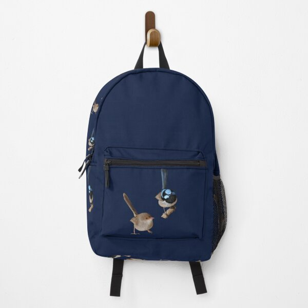 Superb Fairy-wrens male and female Backpack