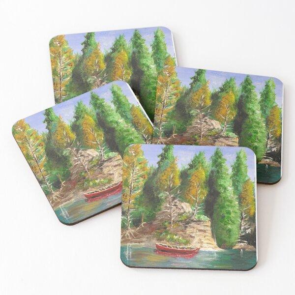 Muskoka Livin' Coasters (Set of 4)