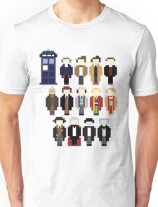 Pixel Doctor Who Regenerations Unisex T-Shirt