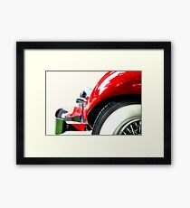 """"""" Fading to White Away """" Framed Print"""