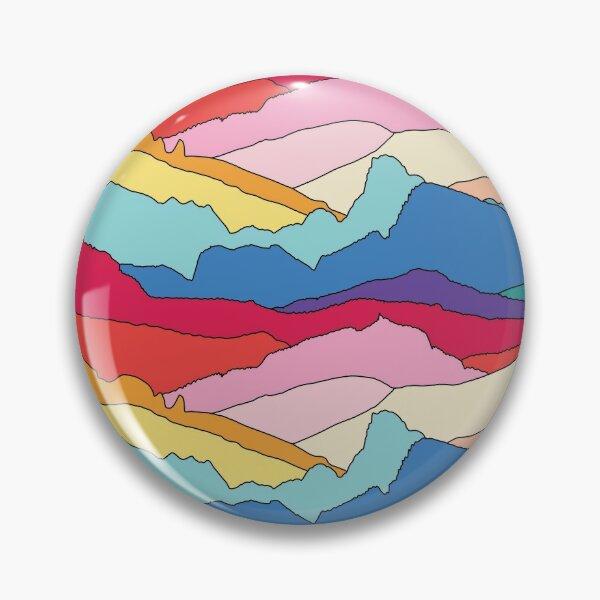 Rainbow mountains by Elebea Pin