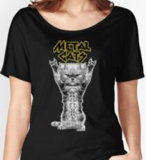 metal cats Women's Relaxed Fit T-Shirt