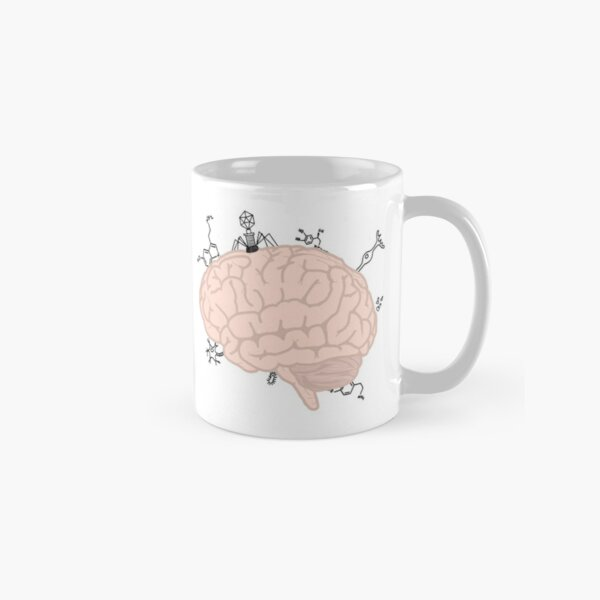Brain with a little something extra Classic Mug
