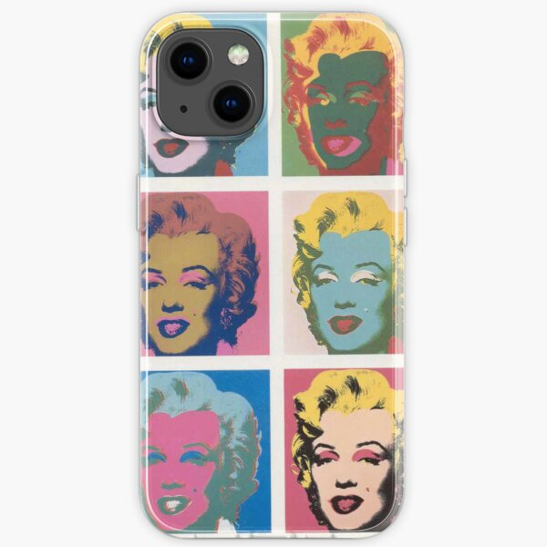 Marilyn Monroe by Andy Warhol iPhone Soft Case