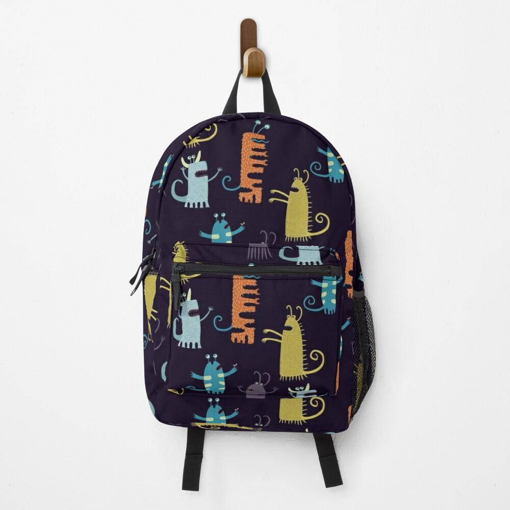 Secretly Vegetarian Monsters Backpack