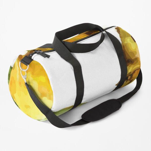 Watercolor of pattern of kiwi and pineapple Duffle Bag