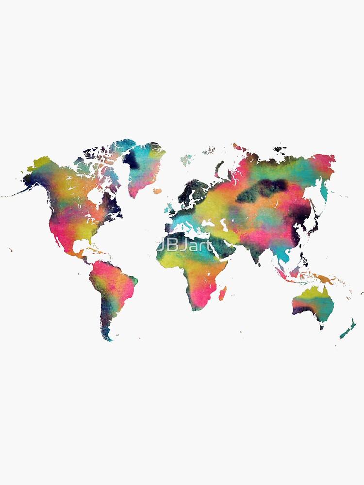 World map 4 by JBJart