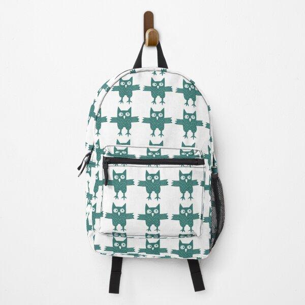 Green Owl Backpack