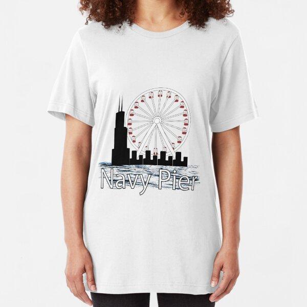 Navy PIer Slim Fit T-Shirt