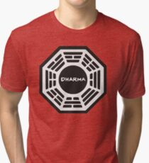 LOST: Dharma Logo Tri-blend T-Shirt